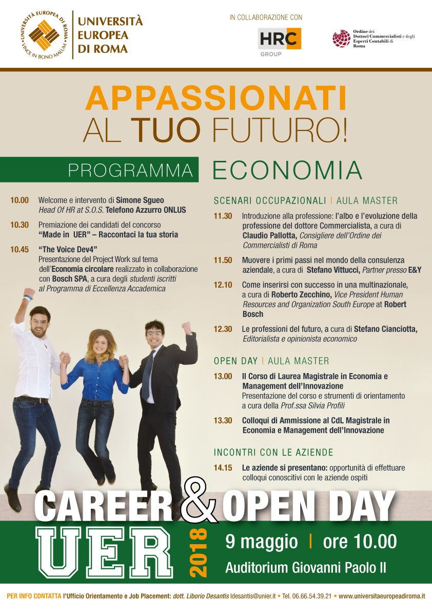 career day economia