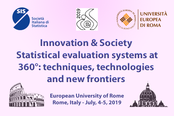 Convegno IES 2019 – Statistical evaluation systems at 360° – techniques, technologies and new frontiers – 9^ edizione