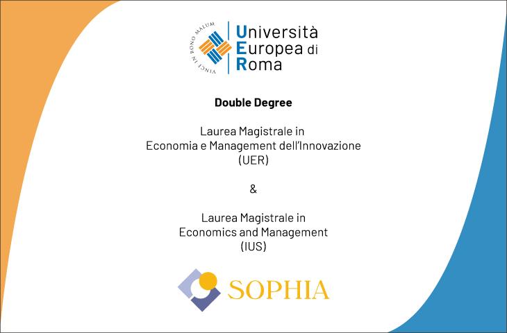Bando selezione n. 5 studenti – Double Degree UER/Sophia