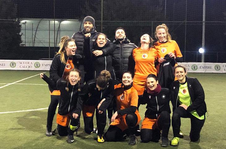 Secondo posto in classifica per la nostra squadra di calcio a 5 femminile