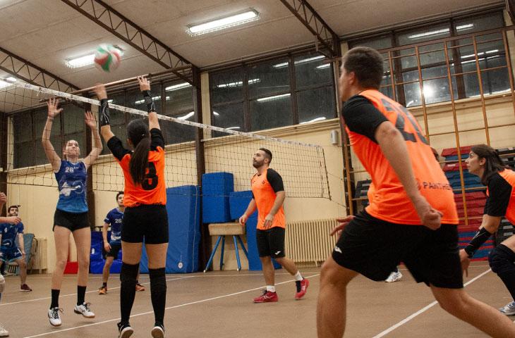 Volley misto