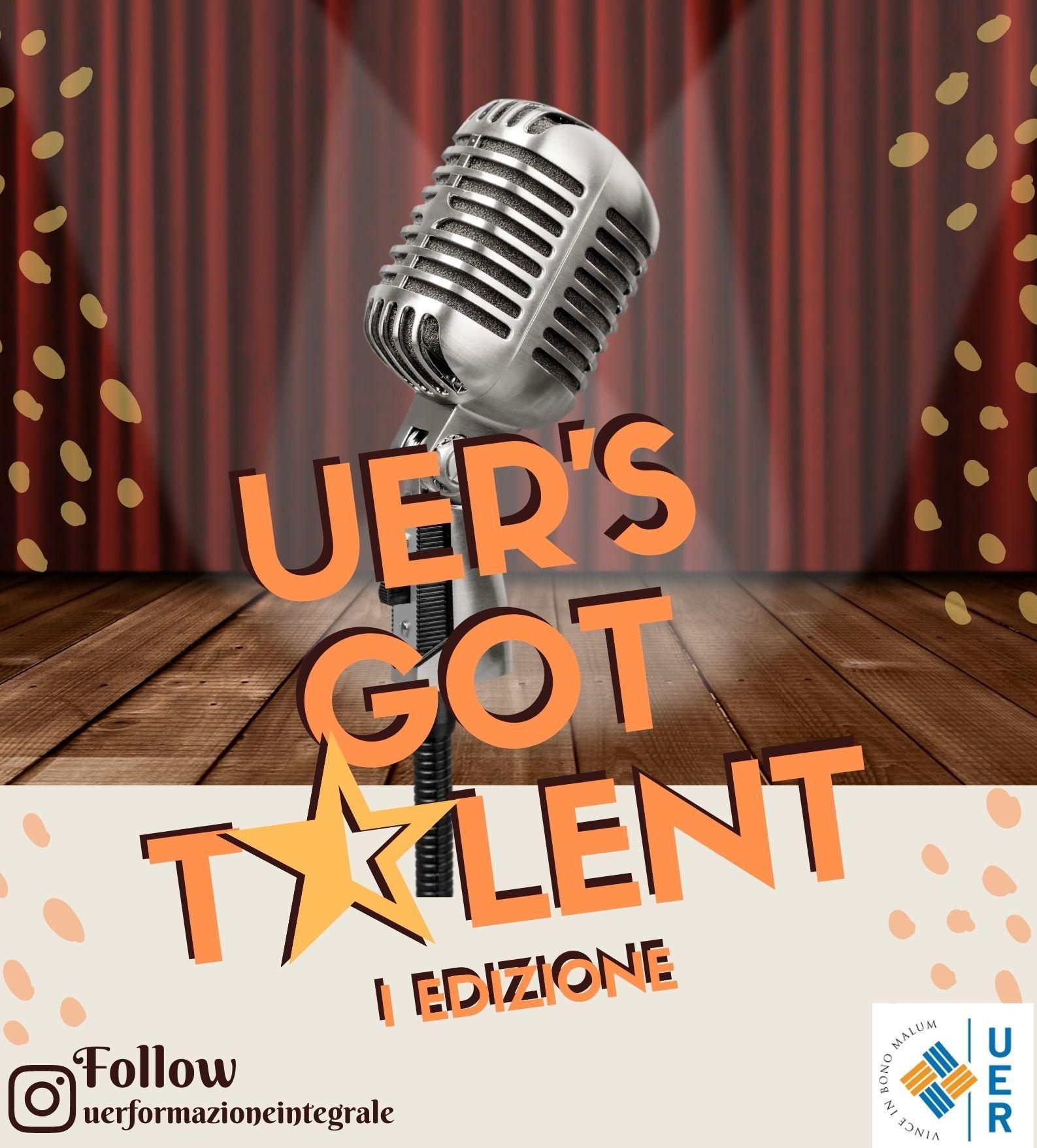 """Èpartito il concorso """"UER's gottalent"""""""