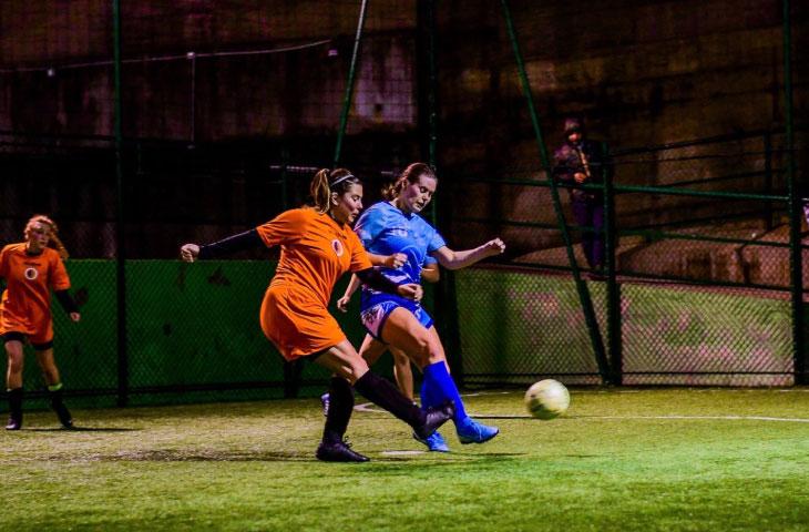 Le ragazze del calcio a cinque