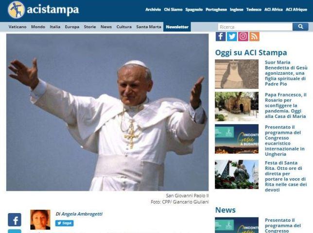 Giovanni Paolo II: un Papa nella storia