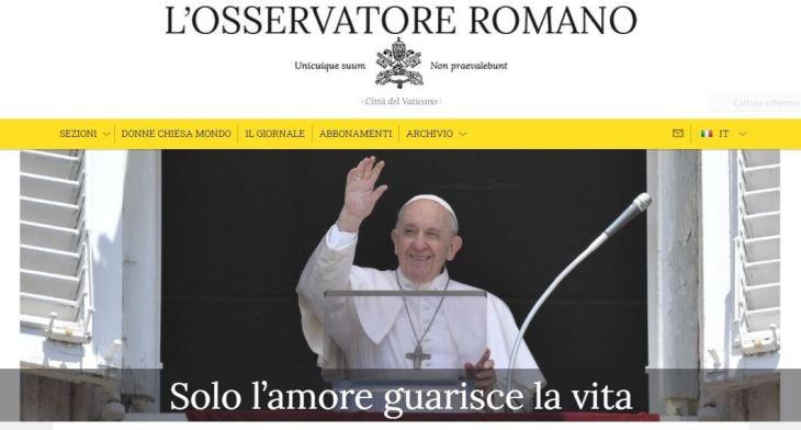 Tanti auguri all'Osservatore Romano!