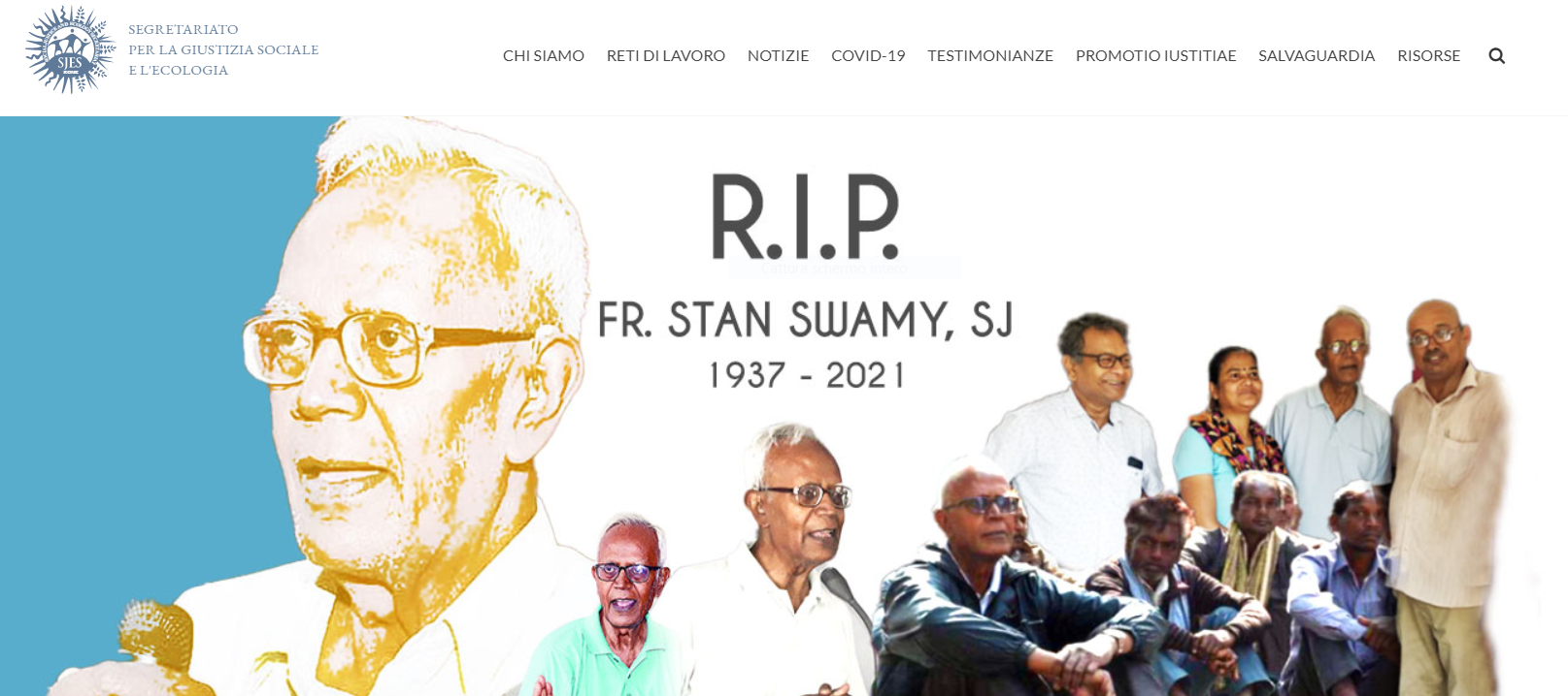 Padre Stan Swamy: un uccello liberato canta dal Cielo!