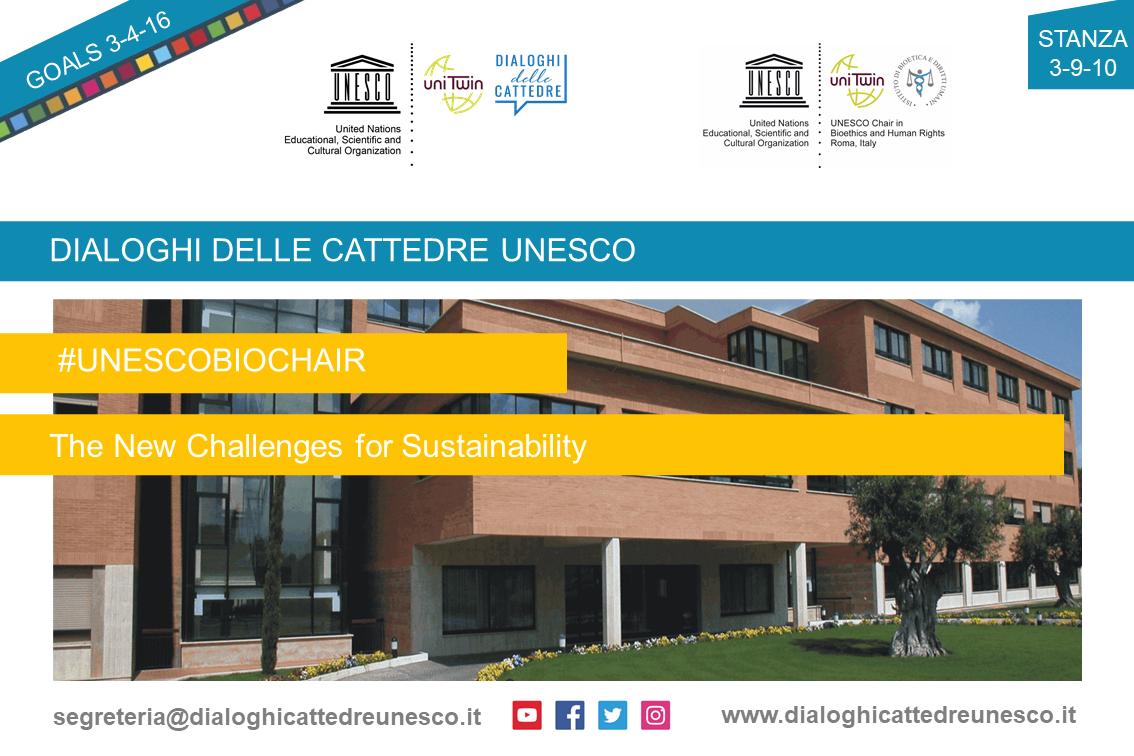Webinar di presentazione della UNESCO Chair in Bioethics and Human Rights