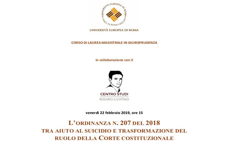 Workshop trasformazione del ruolo della Corte costituzionale