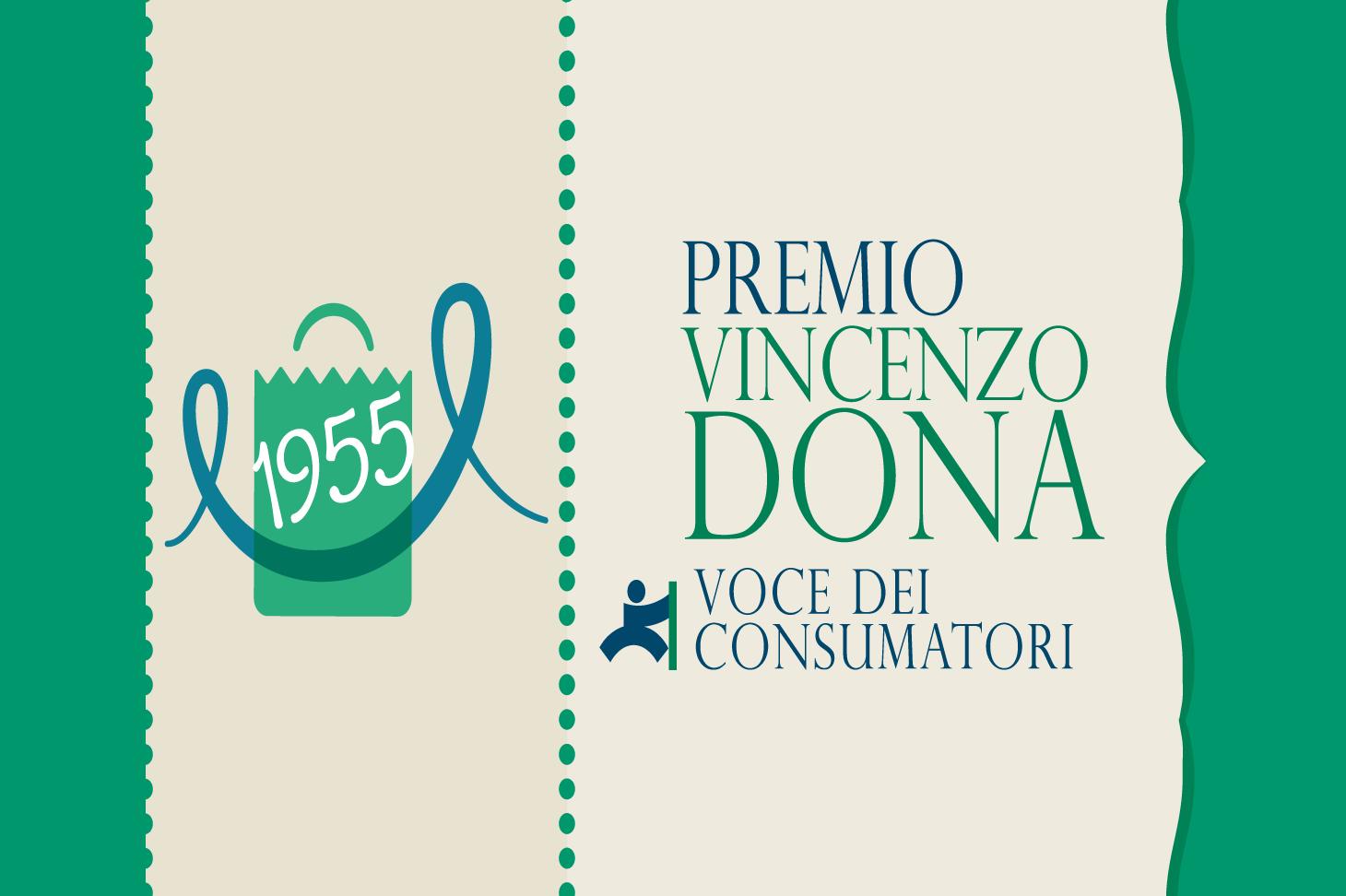 """Premio """"Vincenzo Dona, voce dei consumatori"""" sulla tutela del consumatore"""