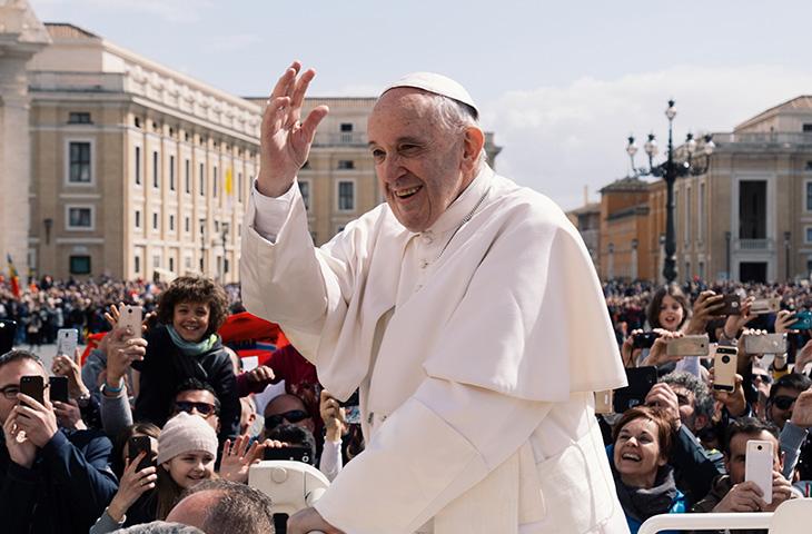 Papa Francesco: udienza ai giuristi