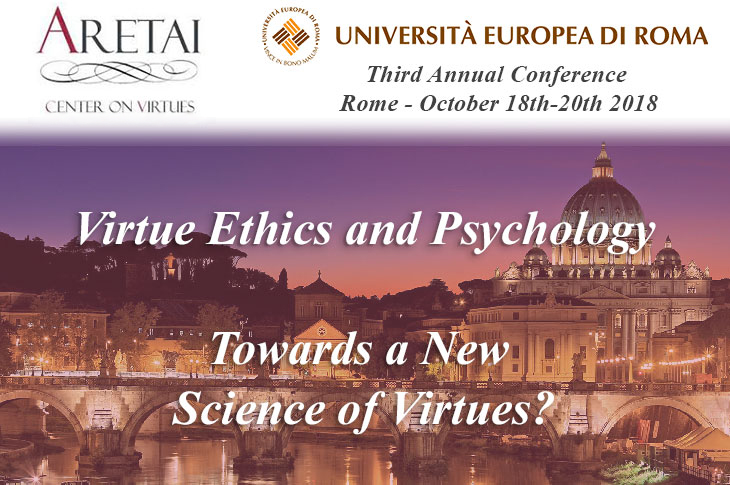 Conference: Virtue Ethics and Psychology – Towards a New Science of Virtues?