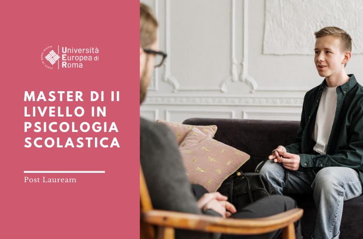 Master di II Livello in Psicologia scolastica – Edizione online