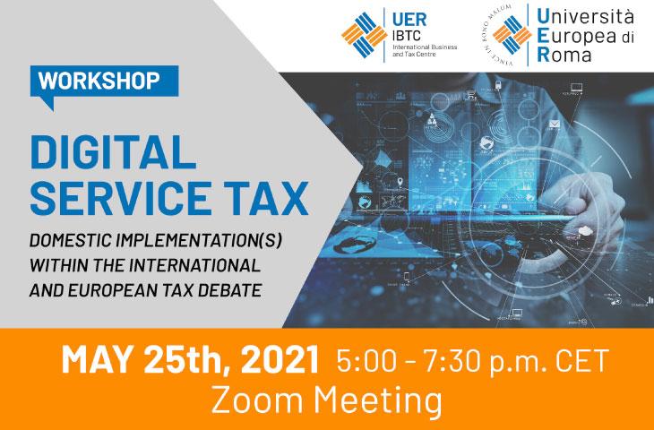 Workshop Digital Service Tax (DST)