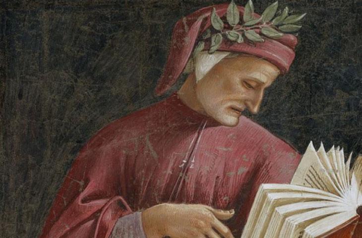 Dante Alighieri nel 700° anniversario della morte