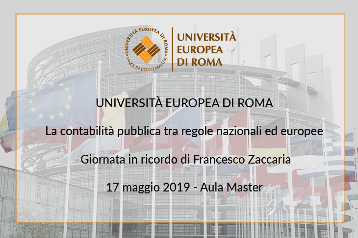 """Convegno """"La contabilità pubblica tra regole nazionali ed europee"""""""
