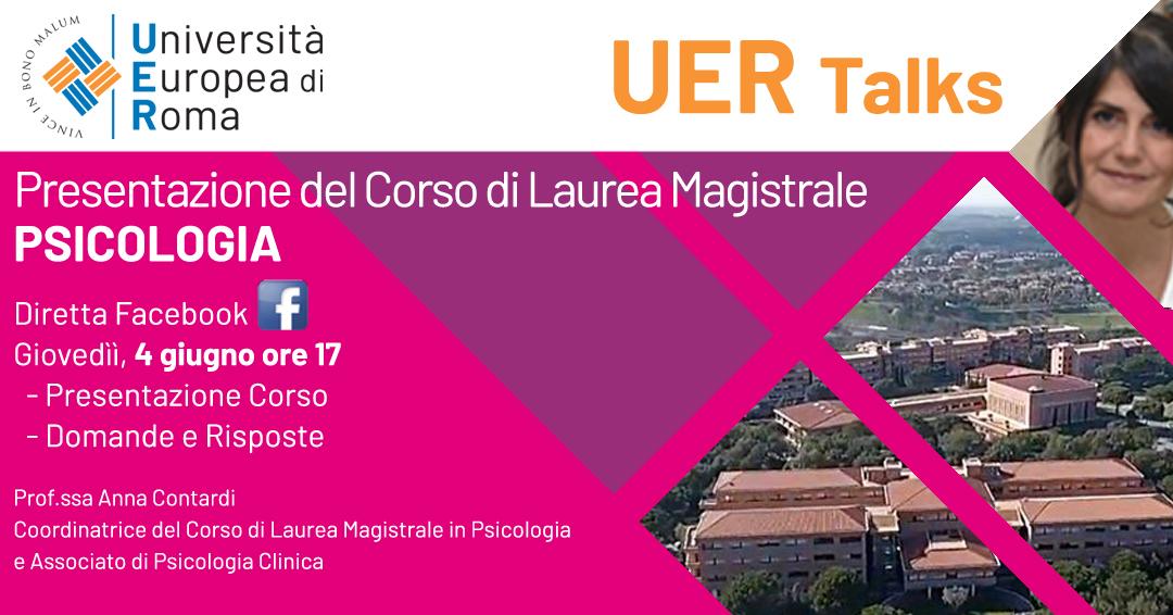 Corso di laurea magistrale UER