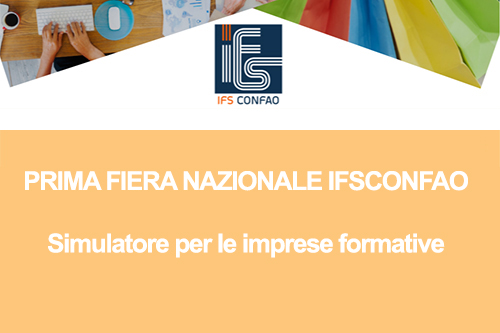 PRIMA FIERA NAZIONALE IFSCONFAO