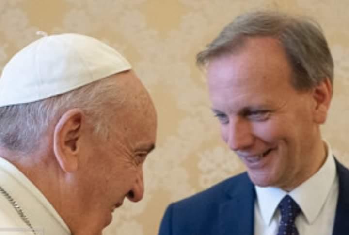 Il Prof. Gambino incontra Papa Francesco