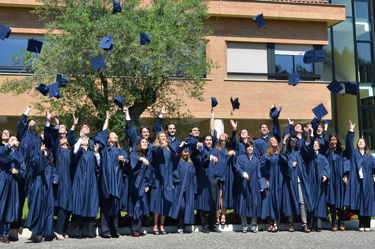 Consegna diplomi di laurea