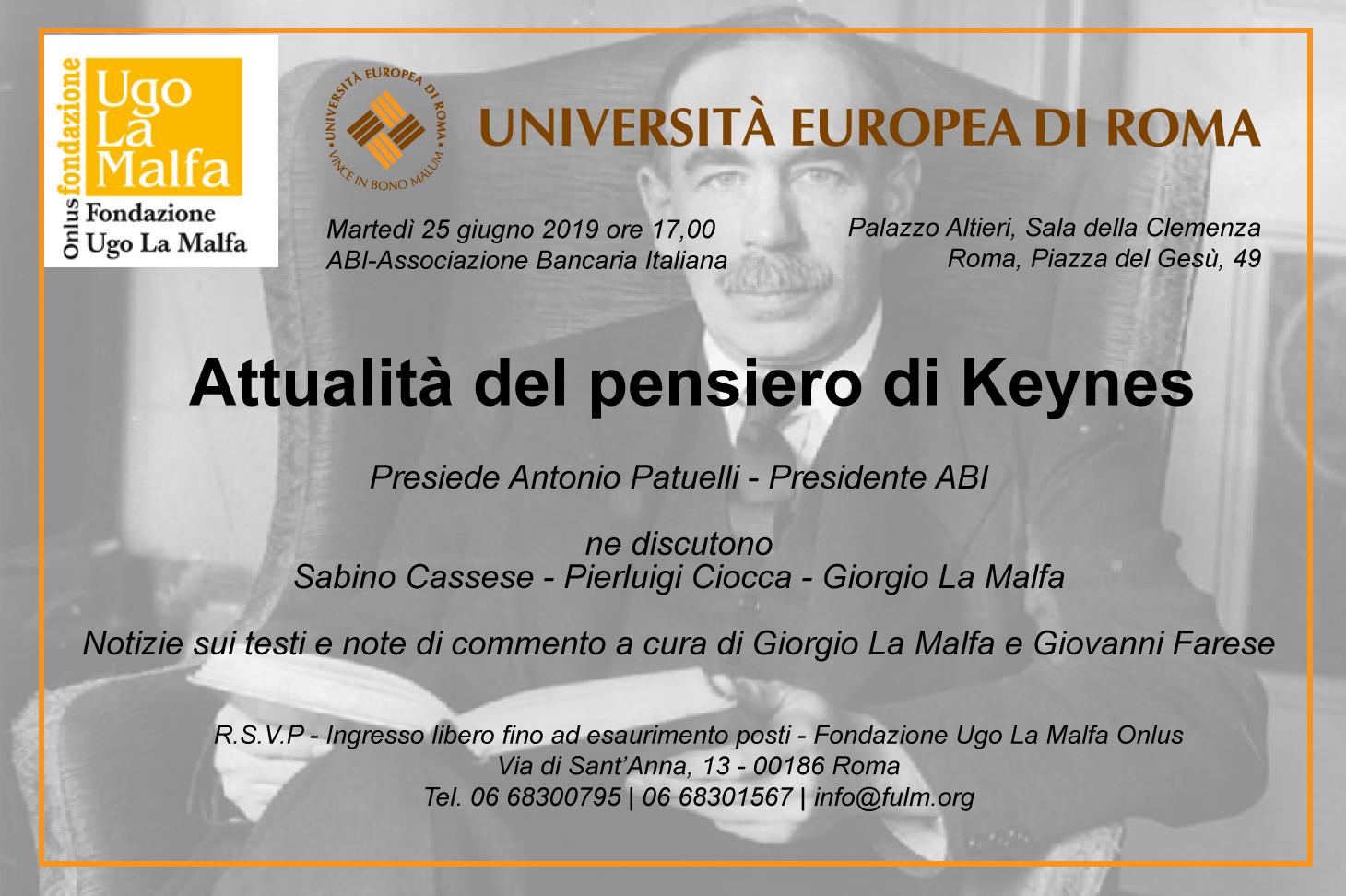 Copertina convegno ABI Keynes