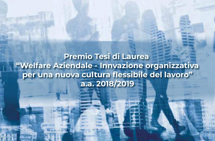 Premio Tesi di Laurea Welfare Aziendale
