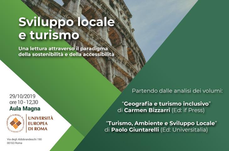 Sviluppo locale e Turismo