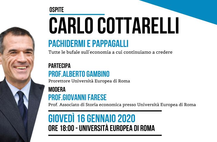 Carlo Cottarelli Pachidermi e Pappagalli