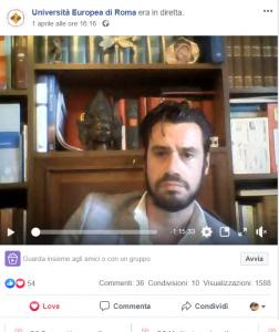 Prog. Gabriele Giorgi UerTalks diretta Fb